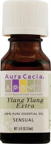 Aura Cacia Sensual Ylang Ylang Pure Essential Oil Perspective: front