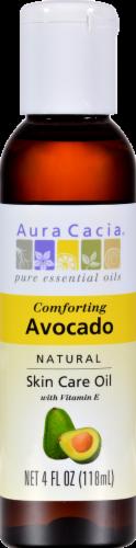 Aura Cacia Avocado Skin Care Oil Perspective: front