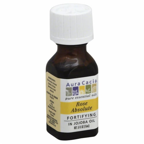 Aura Cacia Rose Absolute Oil Perspective: front