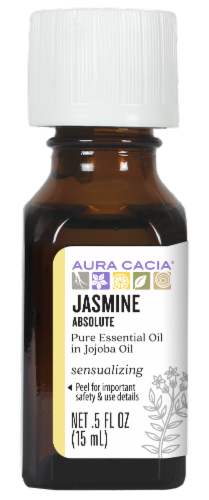 Aura Cacia Jasmine Oil Perspective: front