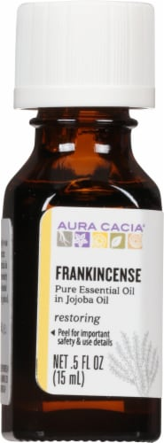 Aura Cacia Frankincense in Jojoba Oil Perspective: front
