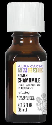 Aura Cacia Roman Chamomile in Jojoba Oil Perspective: front