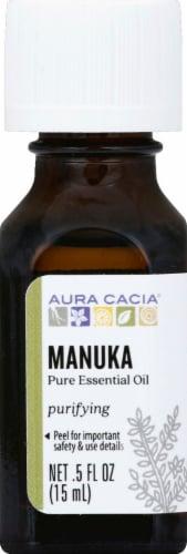 Aura Cacia Manuka Pure Essential Oil Perspective: front