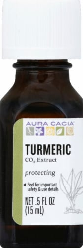 Aura Cacia Turmeric CO2 Extract Perspective: front