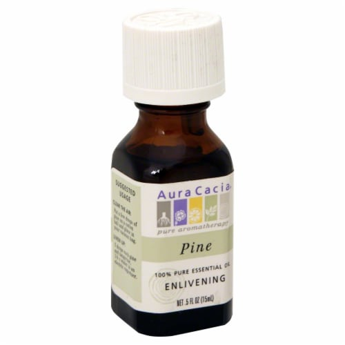 Aura Cacia Pine Oil Perspective: front