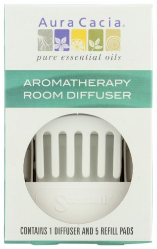Aura Cacia Aromatherapy Room Diffuser Perspective: front