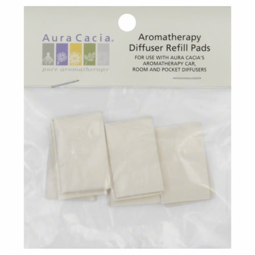 Aura Cacia Car/room Diffuser Refill Pads Perspective: front
