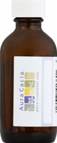 Aura Cacia Empty Amber Bottle Perspective: front