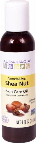 Aura Cacia Nourishing Shea Nut Skin Care Oil Perspective: front
