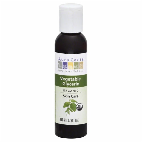 Aura Cacia Vegetable Glycerin Skin Care Perspective: front