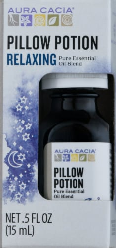 Aura Cacia® Pillow Potion Relaxing Essential Oil Blend Perspective: front