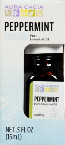 Aura Cacia Cooling Essential Oil Perspective: front