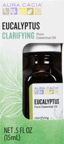 Aura Cacia Clearing Essential Oil Perspective: front