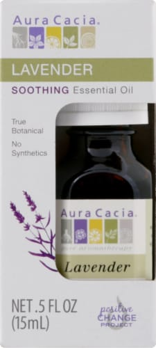 Aura Cacia Soothing Essential Oil Perspective: front