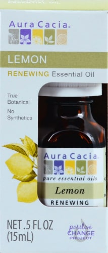 Aura Cacia Renewing Essential Oil Perspective: front
