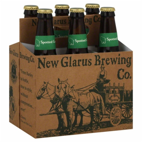 New Glarus Brewing Co. Spotted Cow Ale Perspective: front