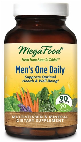 MegaFood  Men's One Daily™ Perspective: front
