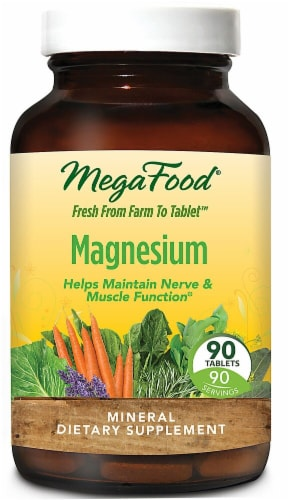 MegaFood  Magnesium Perspective: front