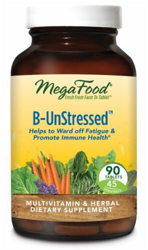 MegaFood  B-Un-Stressed® (Formerly Un-Stressed®) Perspective: front