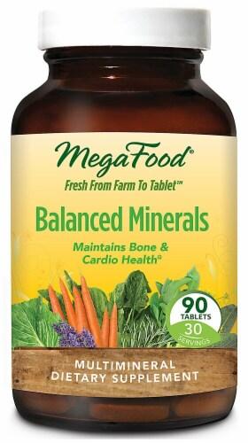 MegaFood  Balanced Minerals Perspective: front