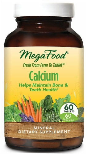 MegaFood  Calcium Perspective: front