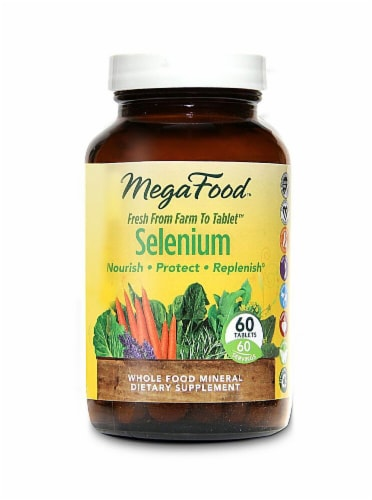 MegaFood  Selenium Perspective: front