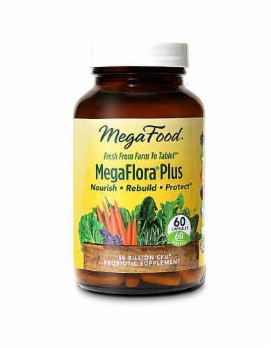 MegaFood  MegaFlora® Plus Perspective: front