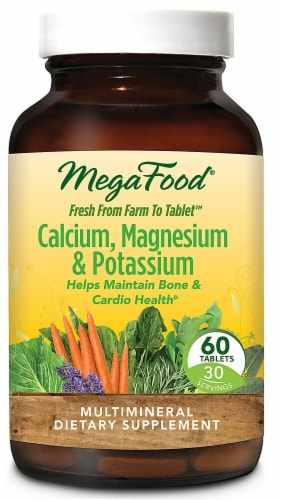 MegaFood  Calcium & Magnesium Perspective: front
