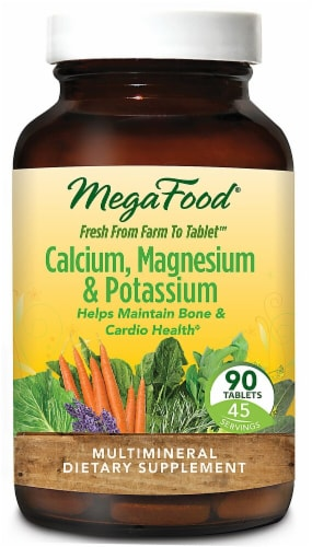 MegaFood  Calcium & Magnesium Perspective: front