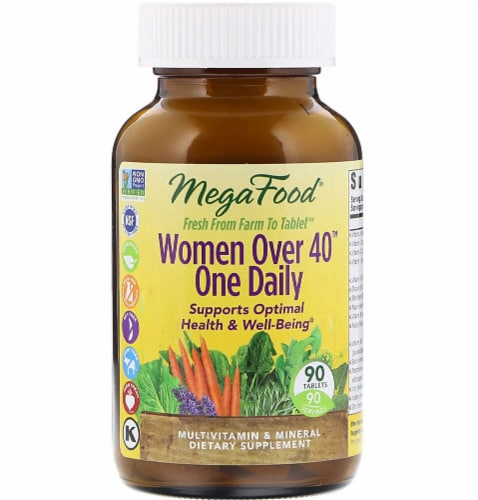 MegaFood  Women Over 40 One Daily Perspective: front