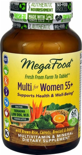 MegaFood  Multi for Women 55+ Perspective: front