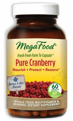 MegaFood  Pure Cranberry Perspective: front