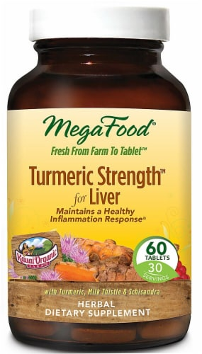 MegaFood  Turmeric Strength™ for Liver Perspective: front