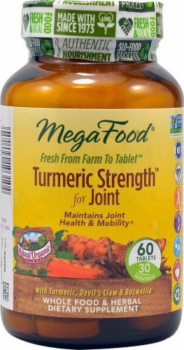 MegaFood  Turmeric Strength™ for Joint Perspective: front