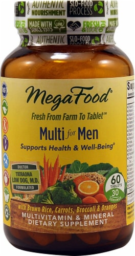 MegaFood  Multi for Men Perspective: front