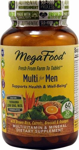 MegaFood  Multi for Men Perspective: front