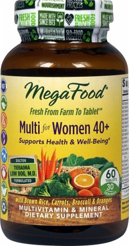 MegaFood  Multi for Women 40 plus Perspective: front
