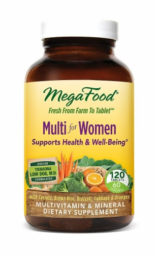 MegaFood Multi for Women Tablets Perspective: front