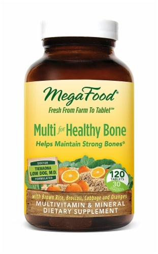 MegaFood  Multi for Healthy Bone Perspective: front