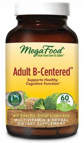 MegaFood  Adult B-Centered™ Perspective: front