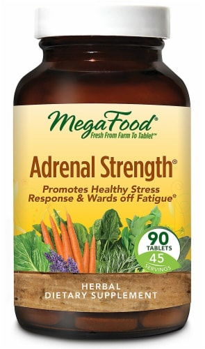 MegaFood  Adrenal Strength® Perspective: front