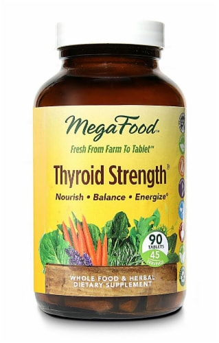 MegaFood  Thyroid Strength® Perspective: front