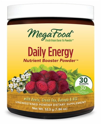 MegaFood  Daily Energy Nutrient Booster Powder™ Perspective: front