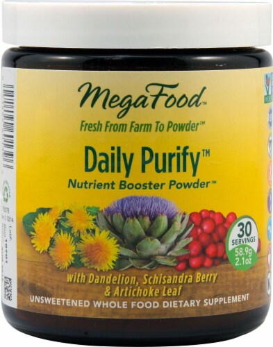 MegaFood  Daily Purify Nutrient Booster Powder™ Perspective: front