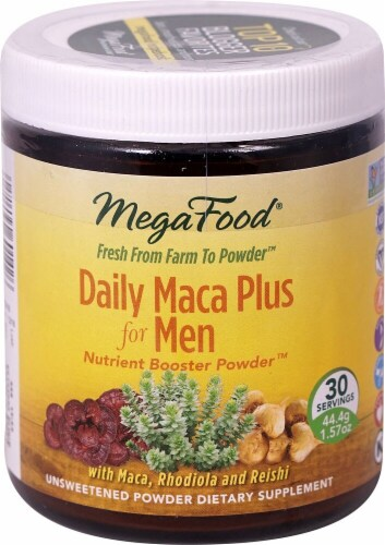 MegaFood  Daily Maca Plus Men Nutrient Booster Powder™ Perspective: front