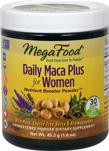 MegaFood  Daily Maca Plus for Women Perspective: front