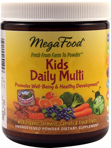 MegaFood  Kids Daily Multi Perspective: front