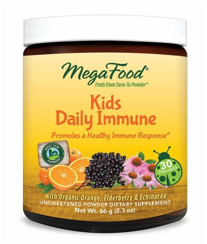MegaFood  Kids Daily Immune Perspective: front
