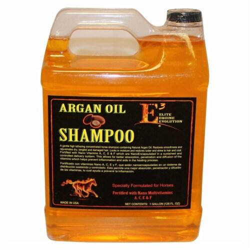 Elite Pharmaceuticals 120128 1 gal Argan Oil Shampoo - Honey, Pack of 4 Perspective: front