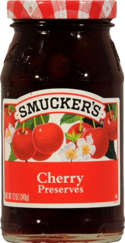 Smucker's Cherry Preserves Perspective: front